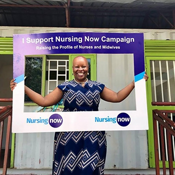 Launch of the Nursing Now Campaign in Uganda